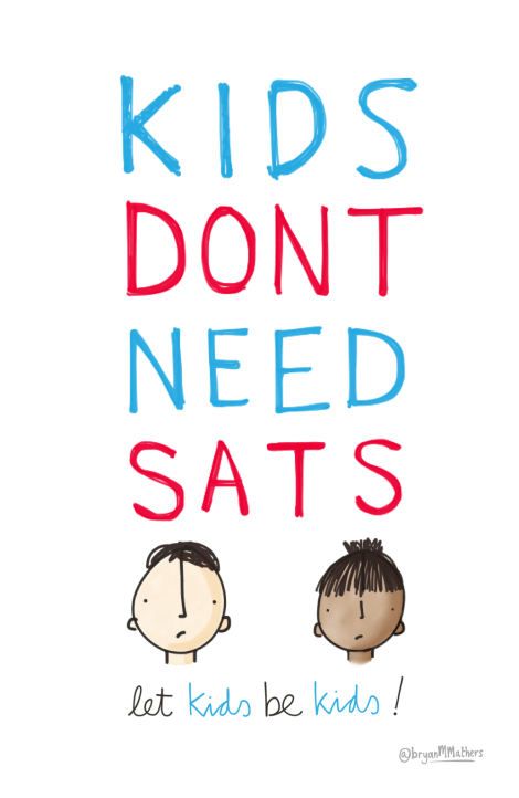 Kids don't need SATs