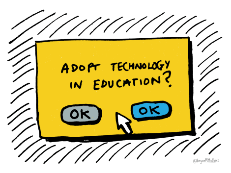 Adopt tech in education