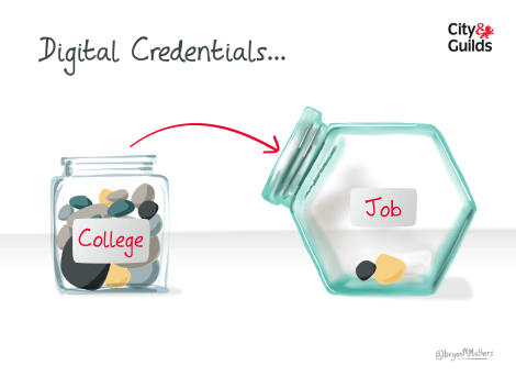 digital credentials - can you take them with you