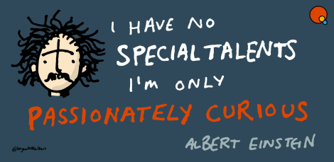 einstein - i have no special talents