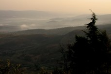 View from Ngara, looking west into Rwanda.