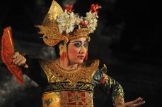 Traditional dancer, Ubud, Bali.