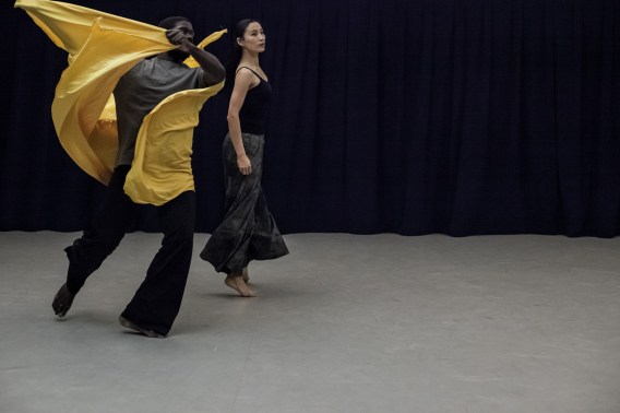 Photo by Zoe Macerollo. My dance with artistic director Lorelei Chang was a highlight for me. With myself as Tenzin and Lorelei as the spirit of the deceased Master, our duet was a study on loss, grief, and guidance.