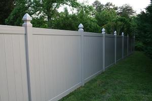 vinyl fence cost bryant