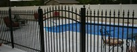 Aluminum Backyard Fencing  Bryant Fence Company