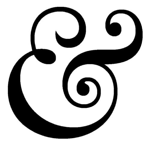 caslon 540 ampersand