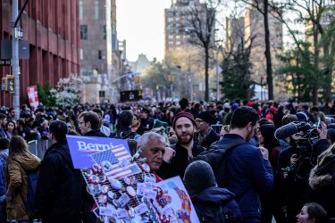 Bernie Rally Washington Square