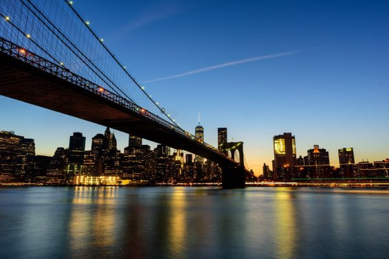 Brooklyn Bridge Manhattan Skyline, Bryan Thatcher