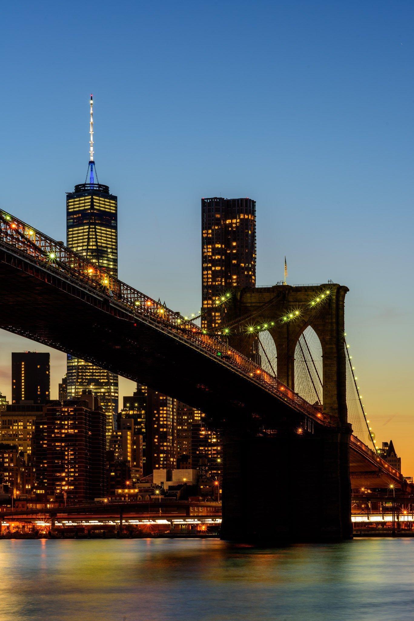 Brooklyn Bridge Manhattan Skyline, Bryan Thatcher