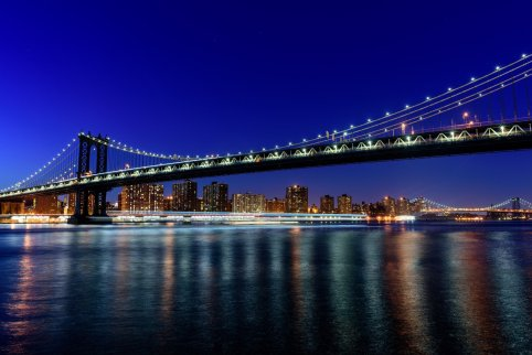 Manhattan Bridge, Manhattan Skyline, Bryan Thatcher