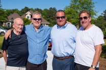 Sam Thatcher, Rob Thatcher, Tommy Curley and Ted Keleman