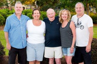 Rob, Kathy, Sam, Marybeth, Bryan