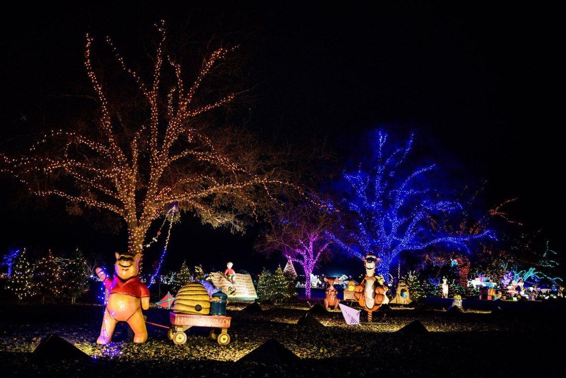 Trail of Lights, Winnie the poo