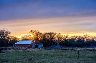 Ranch Sunset