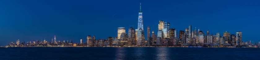Lower Manhattan panoramic