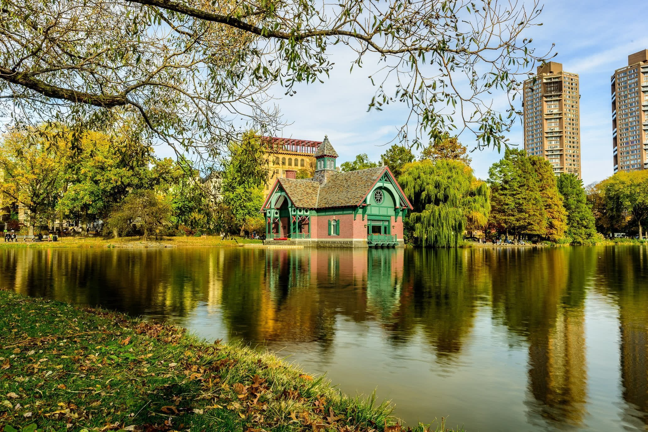 Central Park, Harlem Meer and Charles A. Dana Discovery Center