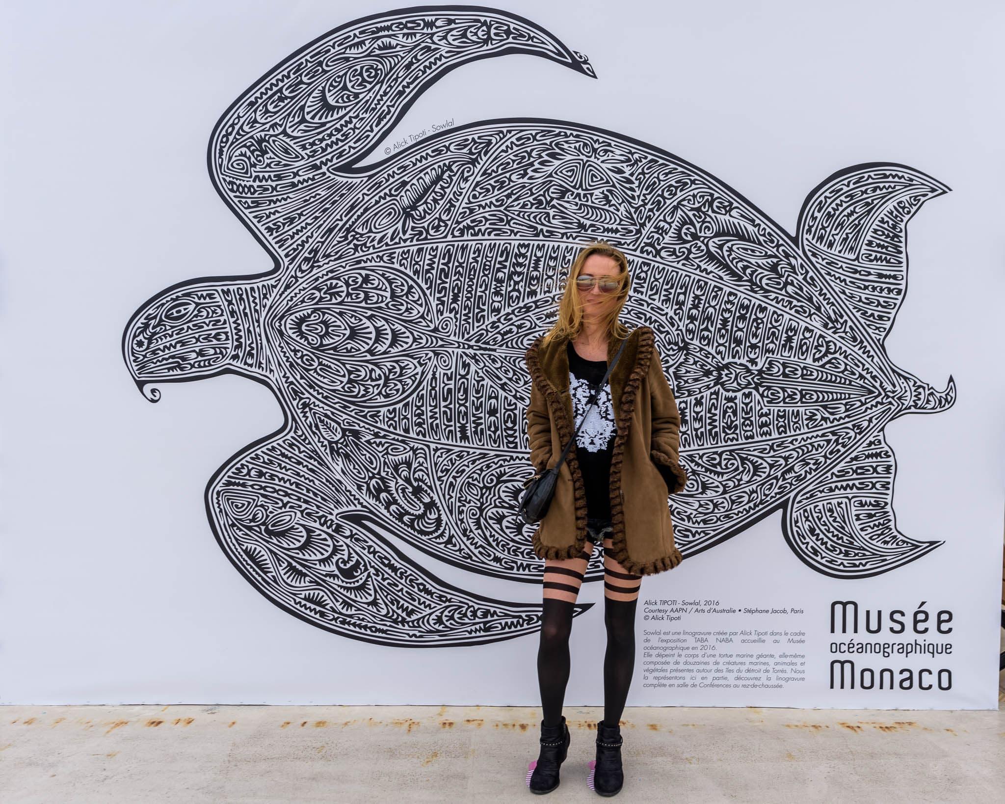 SuzyMae at Musée Océanographique Monaco