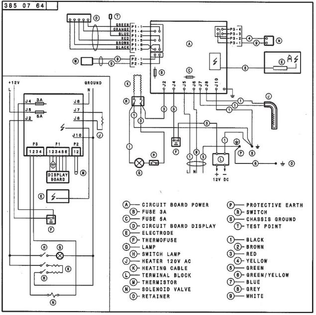 wiring board diagram rm2652