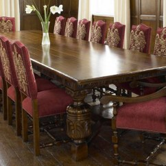Solid Wood Dining Room Table And Chairs Queen Anne Style Chair Cabinet Furniture / Bryants Of Tavistock Furnishings Showroom Devon
