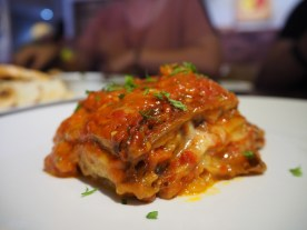 Eggplant Parmigiana. They called it something else which is the Italian translation. Also very good. (La Risata, Damansara)