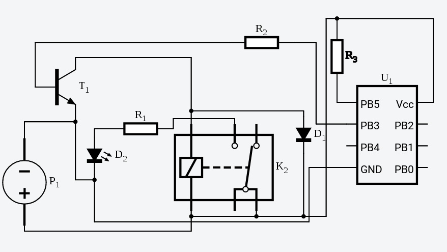 Setting up a Transistor Controlled Relay from your