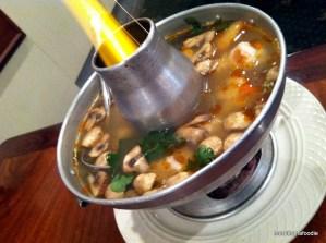 Tom Soup Hot Pot Style