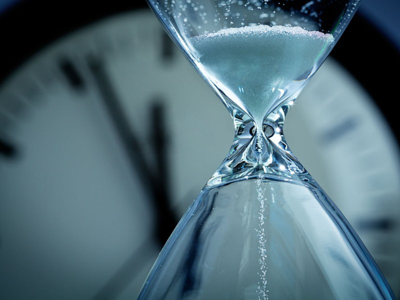 Hourglass Sands of Time