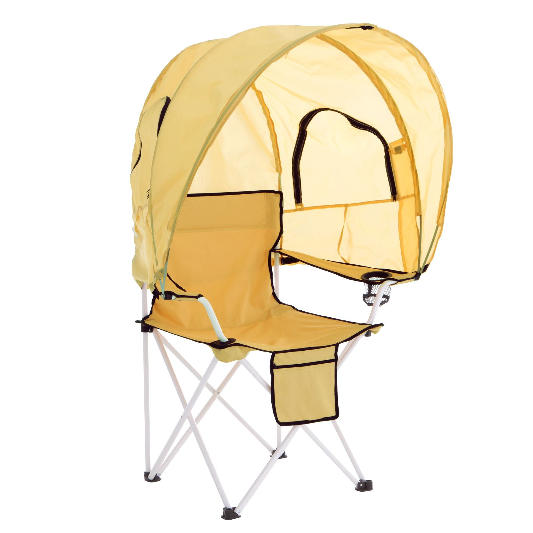 Camp Chair With Canopy Camp Chair With Canopy Plus Size Outdoor Brylane Home