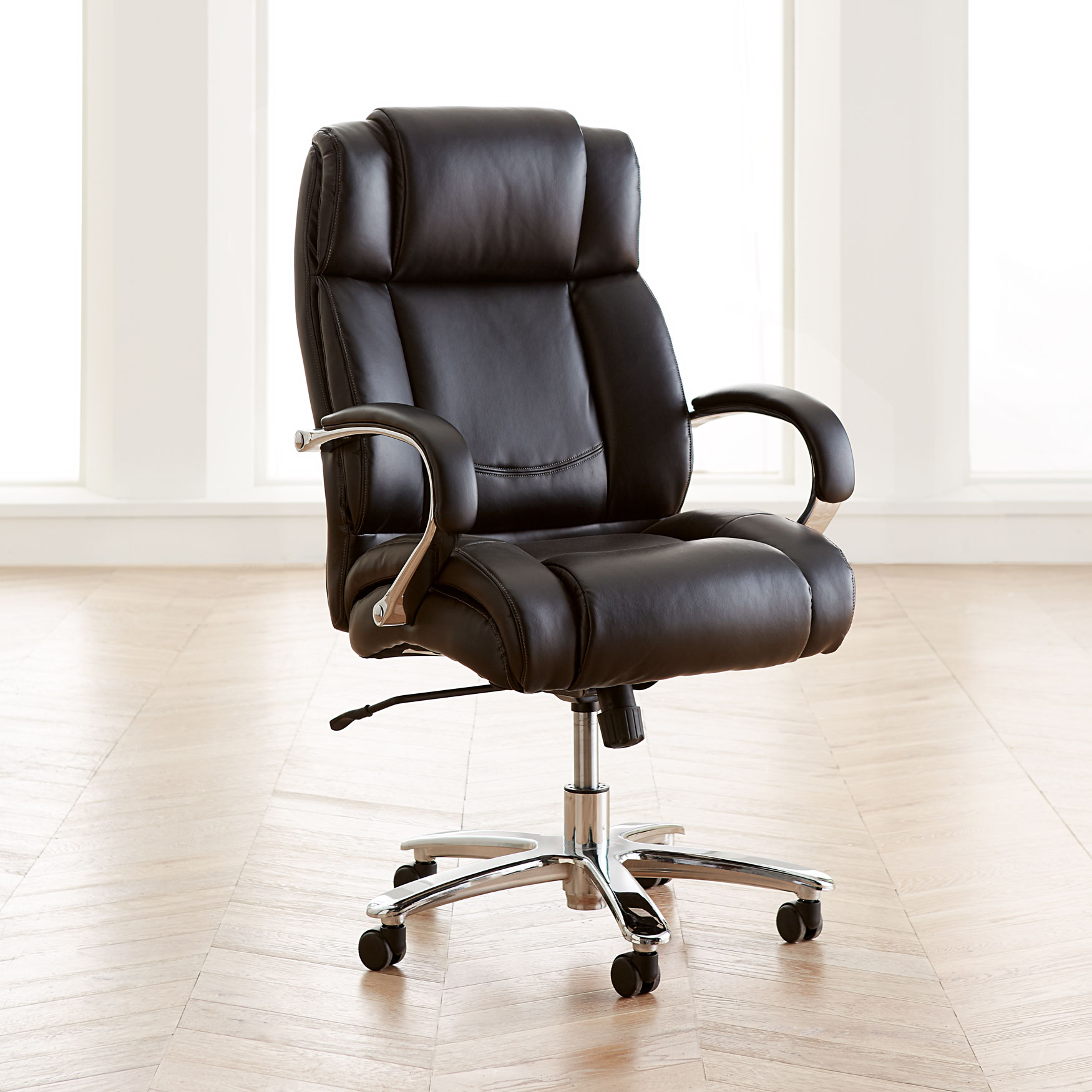 Extra Wide Office Chairs Extra Wide Chrome Finish Office Chair Plus Size Chairs