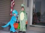 My boys at Halloween