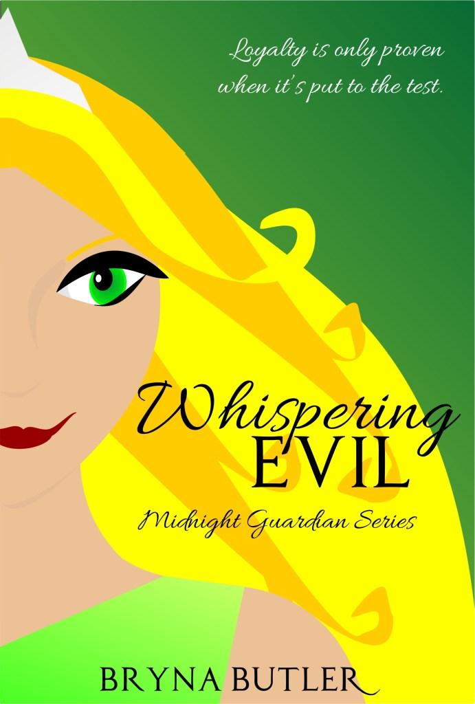 book cover for Whispering Evil