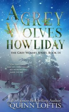 a grew wolves howliday book cover