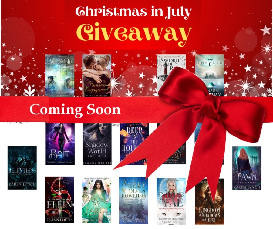 christmas in july giveaway coming soon