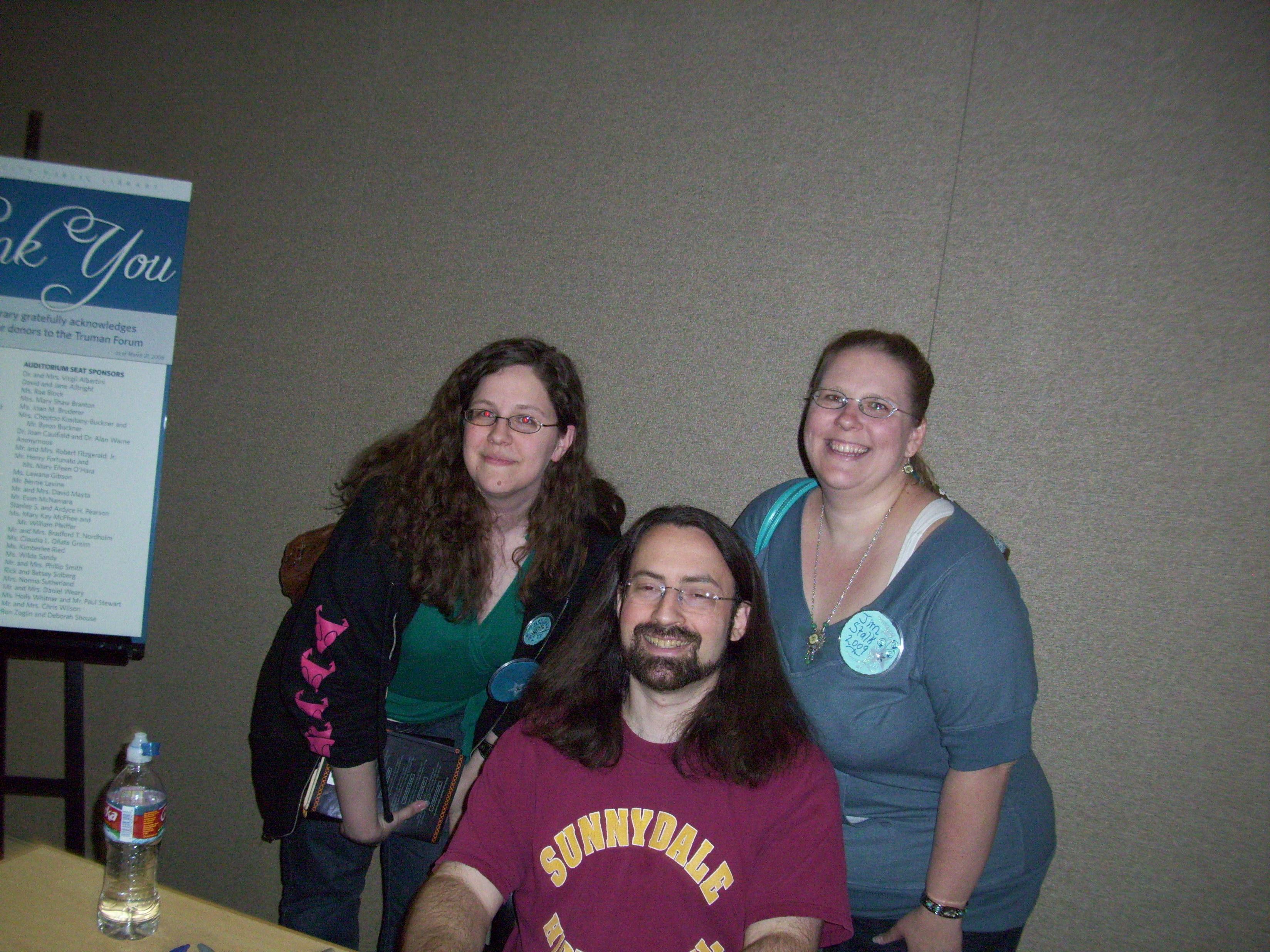 Kari & Kasey with Jim