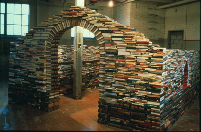 Maybe Tom Bendtsen could build my next house out of books