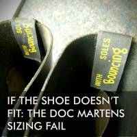 If the shoe doesn't fit: the Doc Martens sizing fail.