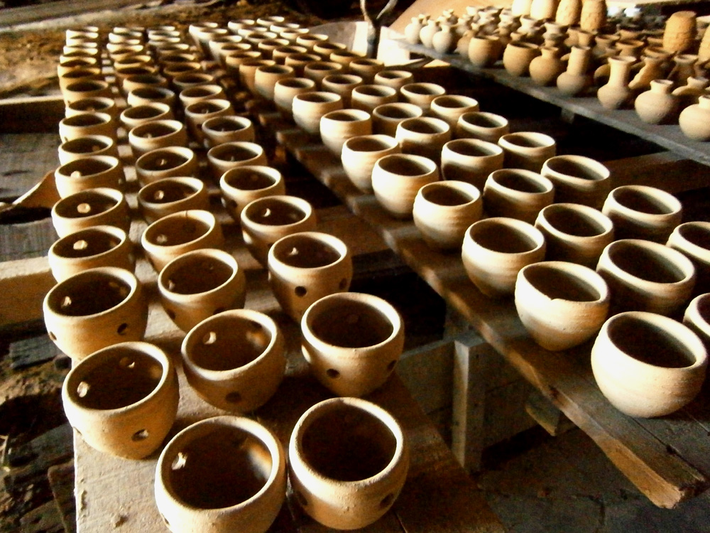 Finished pots in Pagburnayan