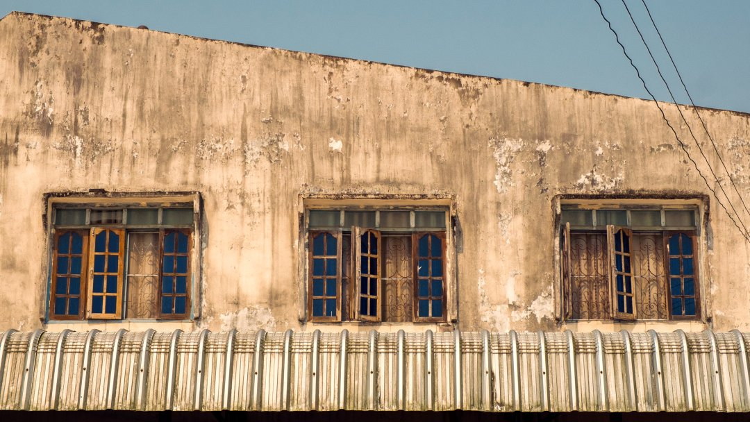 Photo of a building in Luang Namtha, Laos