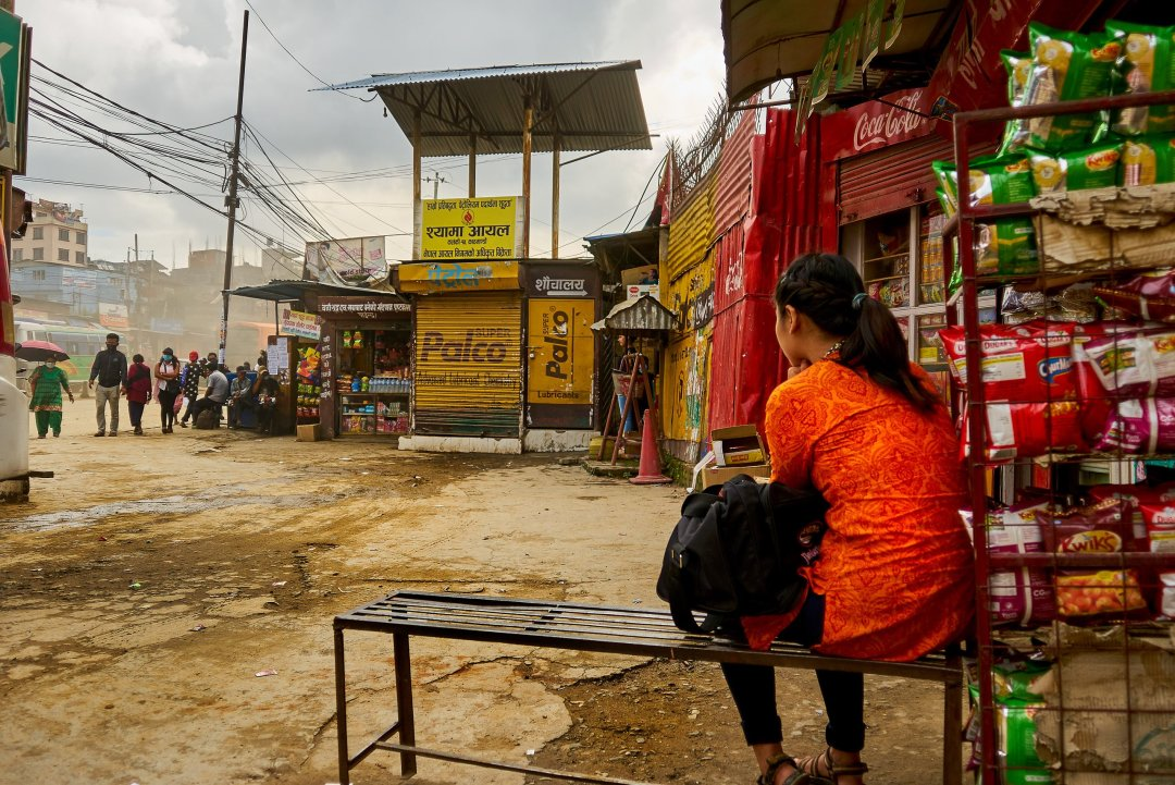 Photo from a humanitarian photography and video project in Kathmandu, Nepal by Humanitarian Photographer Bryon Lippincott