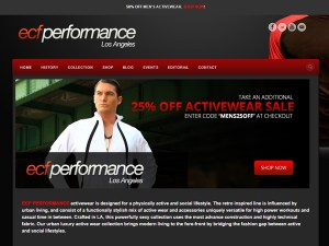 ECF Performance Los Angeles Web Design