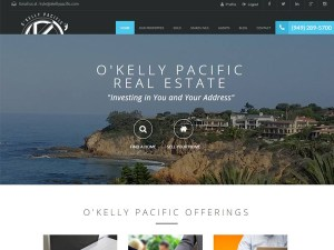 O'Kelly Pacific San Clemente Web Design