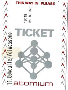 билет в атомиум