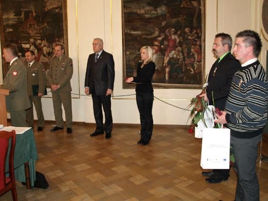 Brzescy żołnierze odznaczeni