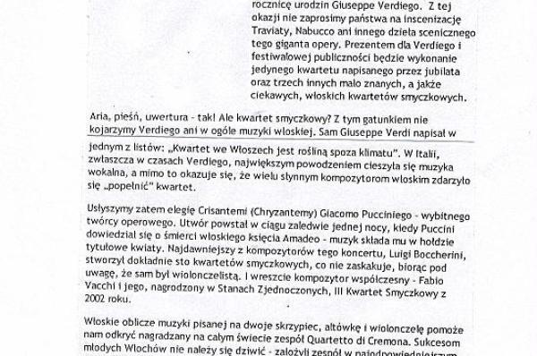 Broń się nie trać wiary koncert Piotra Lubertowicza