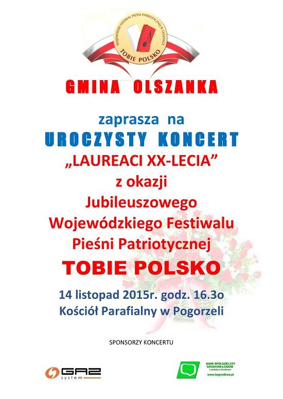 Wojewódzki Festiwal Pieśni Patriotycznej Tobie Polsko