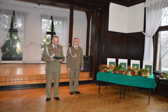 Pożegnanie dowódcy brzeskiej jednostki