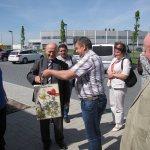 Ukraińscy samorządowcy w Skarbimierzu