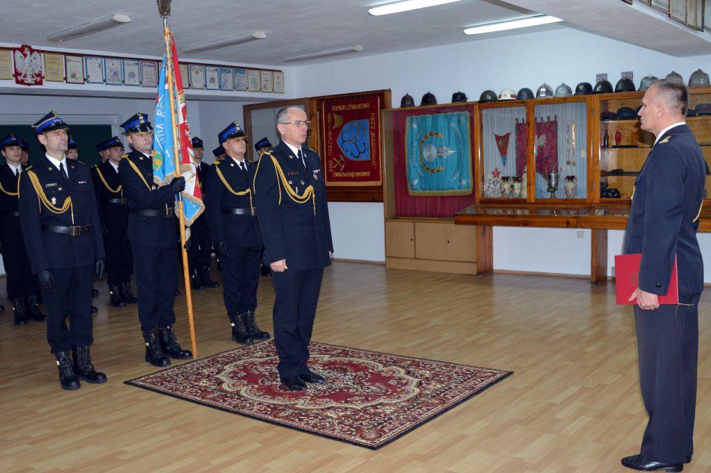 Nowy Komendant Powiatowy PSP
