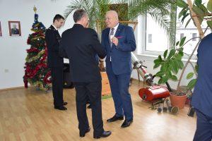 Spotkanie opłatkowe w Komendzie Powiatowej PSP w Brzegu