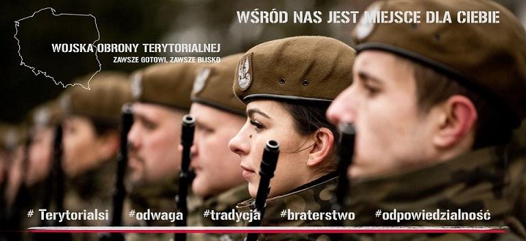 36 - Trwa Nabór Do Formowanego W Brzegu Batalionu Wojsk Obrony Terytorialnej.